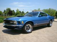 "1970 Ford Mustang Mach 1 351 ""M"" Code 4 Speed Manual"