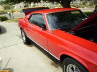 MUSTANG 1970 DEARBORN MACH 1, OR MAKE OFFER. HATE TO