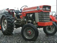 With a little bit of love this tractor can be restored