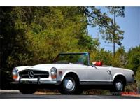 This 1970 Mercedes-Benz 280 SL . It is equipped with a
