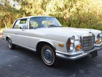 1970 Mercedes Benz 280SE 3.5 Coupe   This 3.5 Coupe is