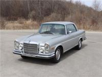 This 1970 Mercedes-Benz 280SE 3.5 is a European-market