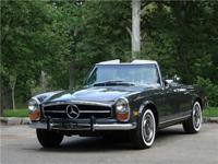 1970 Mercedes 280SL. This beautiful 1970 280SL has only