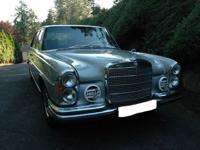 1970 Mercedes Benz 300SEL 6.3~Rare Two Tone