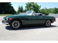 This 1970 MGB is finished in classic British Racing