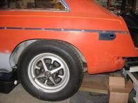 1970 MGB GT ( split bumper year) restoration project.
