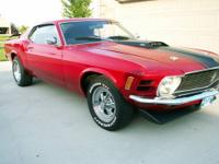 1970 Mustang Mach 1 with 351 W engine and automatic