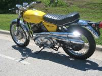 1970 Norton S Model Near Show Condition-For a faster