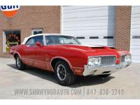 This 1970 Oldsmobile 442, W25 Ram Air shows a fresh