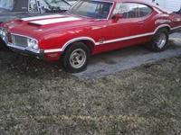 JUST IN TIME FOR RACING SEASON. 1970 OLDSMOBILE 442