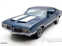 1970 Oldsmobile 442 W-30 coupe finished in Twilight