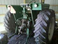 1970 Oliver 1850, 92 HP, Hydrolics, PTO, Wide front