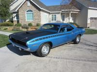 All original and unrestored 1970 Plymouth AAR Cuda