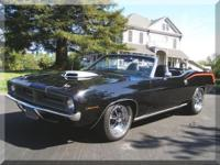 1970 Plymouth Barracuda Convertible Gorgeous Factory