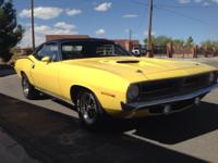 1970 Plymouth Barracuda E-Body. Hard to find, best-year