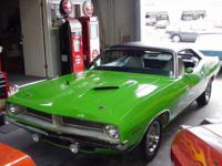 1970 Plymouth Cuda 340 Coupe Limelight / Sublime with a
