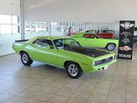 1970 Plymouth Cuda. 440 6-pack,  auto trans.