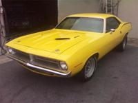 1970 CUDA RE-CREATION 30K IN PAINT AND BODY SANDED DOWN