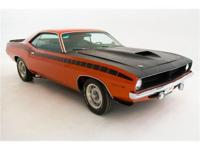 1970 PLYMOUTH AAR CUDA COUPE EXOTIC CLASSICS IS PLEASED