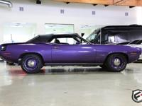 This 1970 Plymouth Cuda is a 100% fresh, just