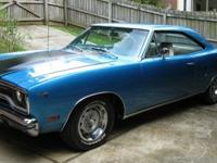 1970 Plymouth Road Runner 2 door hardtop. This is a