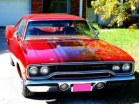 1970 Plymouth Road Runner 383ci Coupe. This car is 46