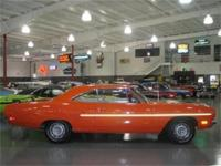 1970 PLYMOUTH ROAD RUNNER WITH RAM HOOD, COYOTE DUSTER,