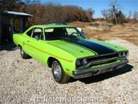 This 1970 Sublime green Road Runner is documented with