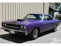 1970 Plymouth Roadrunner hardtop. 440 six pac, 4 speed,