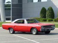 This 1970 Plymouth Road Runner  in Rally Red features