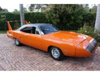 This is a Plymouth, Road Runner for sale by Beebe's