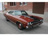 1970 Plymouth Roadrunner factory V code 440 6 pack car.