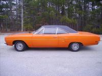 Here is a GOOD LOOKING 1970 Plymouth Road Runner. It