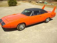 It is powered by a 1970 rebuilt 440 big block motor and