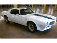 This 1970 Pontiac Firebird Trans Am Ram Air III is