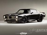 1970 Pontiac Firebird finished in gloss black with
