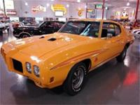 RARE 1970 PONTIAC GTO JUDGE, 400 CID/366 HP ENGINE,