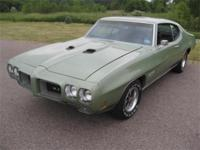 1970 PONTIAC GTO 455 AUTOMATIC NUMBERS MATCHING COUPE -