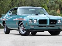 "1970 PONTIAC GTO ""THE JUDGE"" FINSHED IN 2008 OVER"
