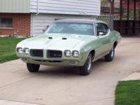Up for sale is a very rare 1970 Pontiac GTO Ram Air IV