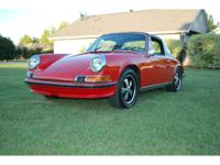 1970 Porsche 911 S Targa!!! This 911 S is rust free due
