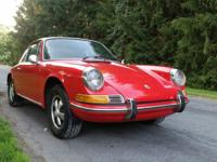 1970 Porsche 911 Coupe in original Guards Red Excellent