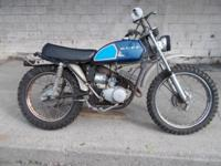 This is a 1970 Rupp minibike .barn find thats not been