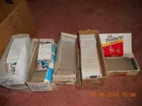 Entire Childhood Baseball card collection 1974 thru
