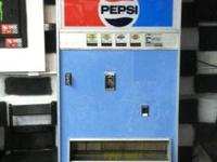 This pepsi machine will hold 181 ice cold beverages.