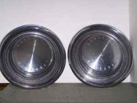 "FOR SALE: HAVE TWO(2) 1970'S CHRYSLER 15"" OEM HUBCAPS."