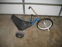 Very rare and unusual factory-built chopper tricycle