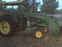 This is a 1970's John Deer Tractor 4430. It has new