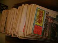 Mid 1970's Drag car mags for sale. $2 each. Others also