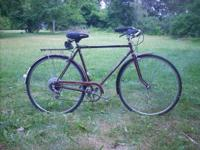 Classic 1970's style Raleigh Sprite mens 5 speed in